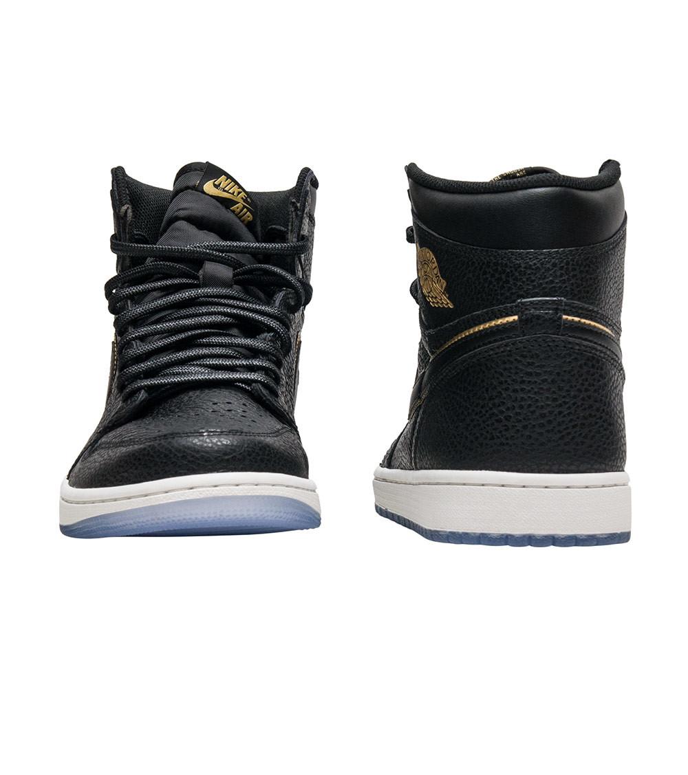 AJ1,Air Jordan 1,555088-031  奢华黑金!洛杉矶主题 Air Jordan 1 明年一月发售