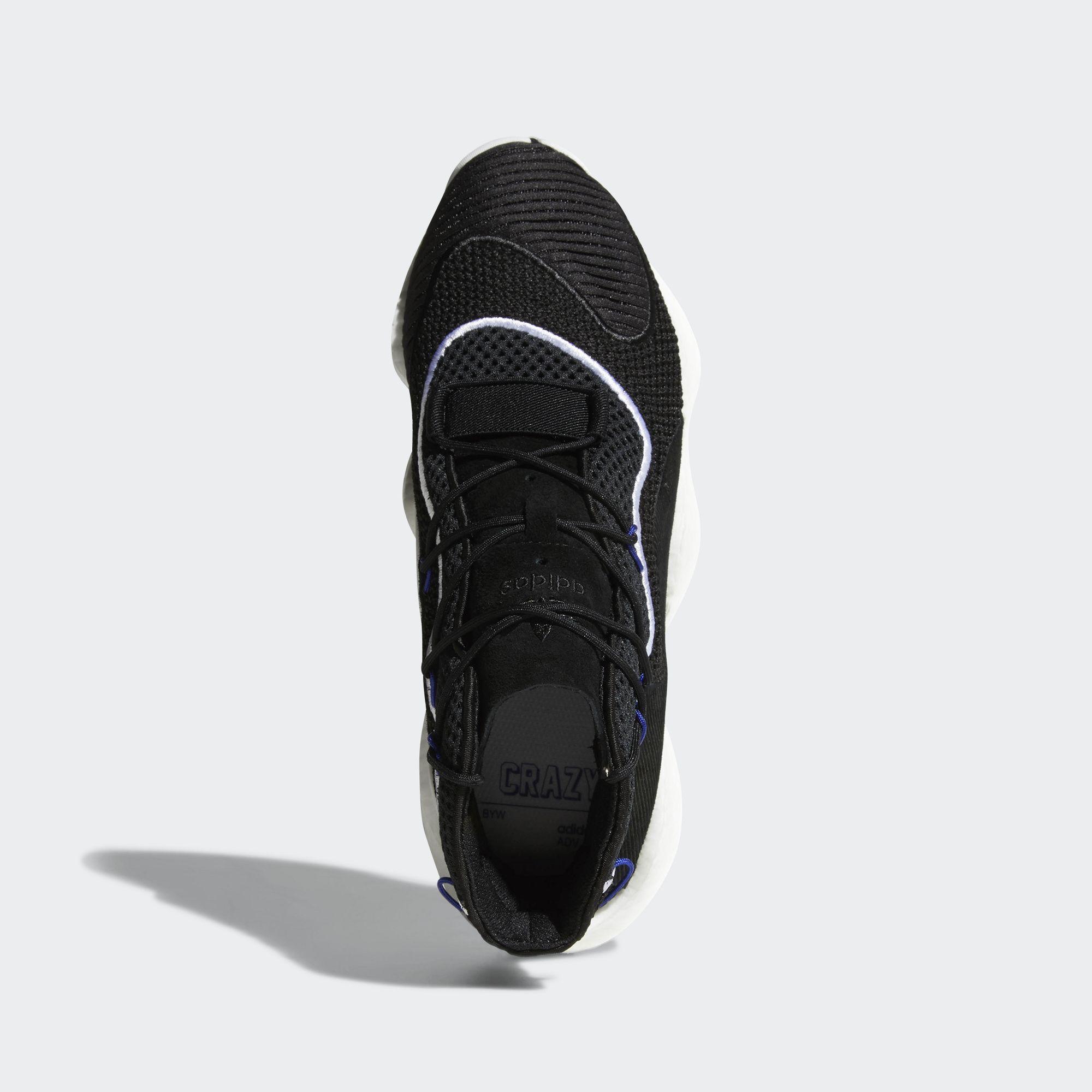 adidas,Crazy BYW LVL 1  时尚与性能并存!adidas 推出全新 Boost 篮球鞋!