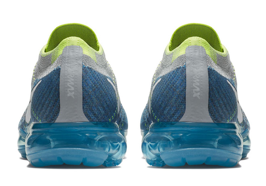 Air VaporMax,Nike,849558-022,S  发售日期确定!雪碧配色 Air VaporMax 本月底登场