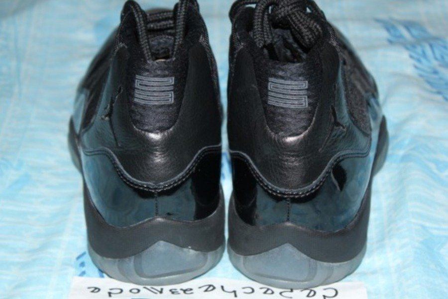 "Air Jordan 11,AJ11,378037-005  明年 5 月!2018 款 Air Jordan 11 ""Blackout"" 再曝 Sample 谍照!"