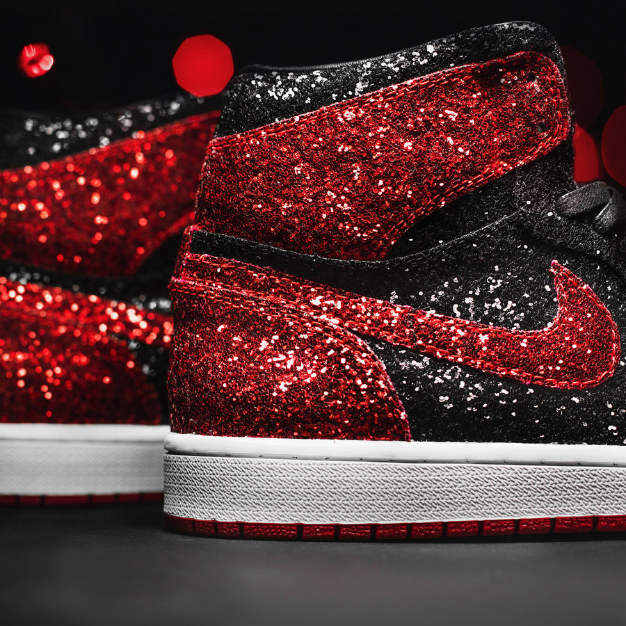 Air Jordan 1,AJ1,The Shoe Surg  美如画!The Shoe Surgeon 打造 00 美元的限量圣诞 AJ1