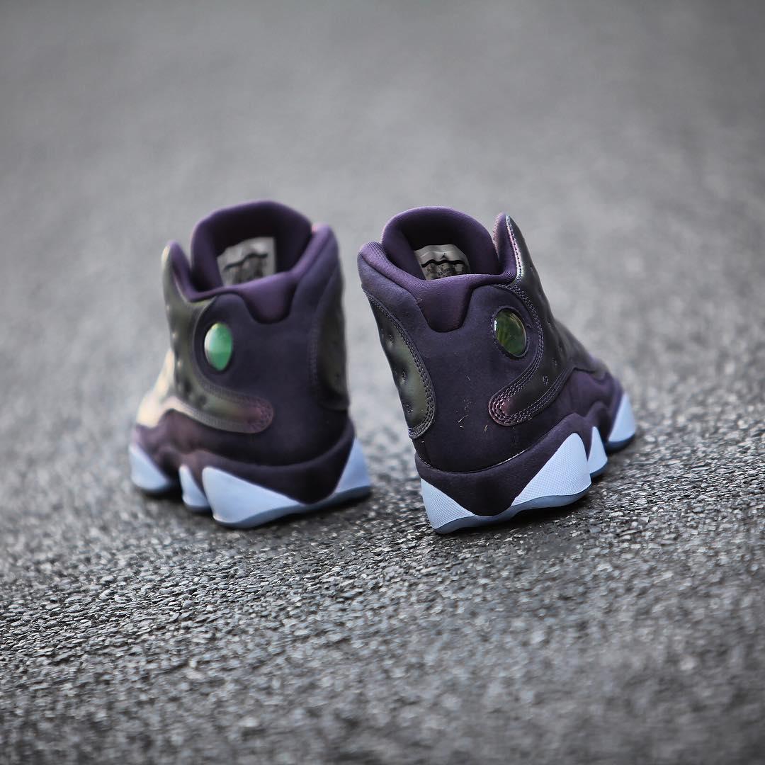 AJ13,Air Jordan 13,AA1236-520  金属光泽!暗紫色 Air Jordan 13 PRM 本周发售!