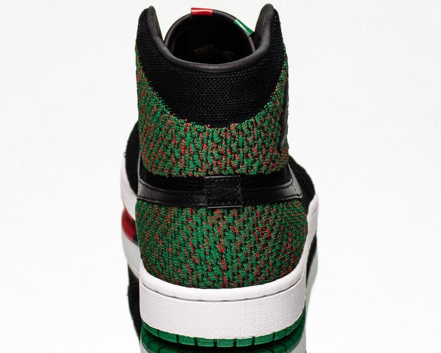 AA2426-026,Air Jordan 1,Flykni  明年 2 月 登场!黑人月配色 Air Jordan 1 实物细节近赏