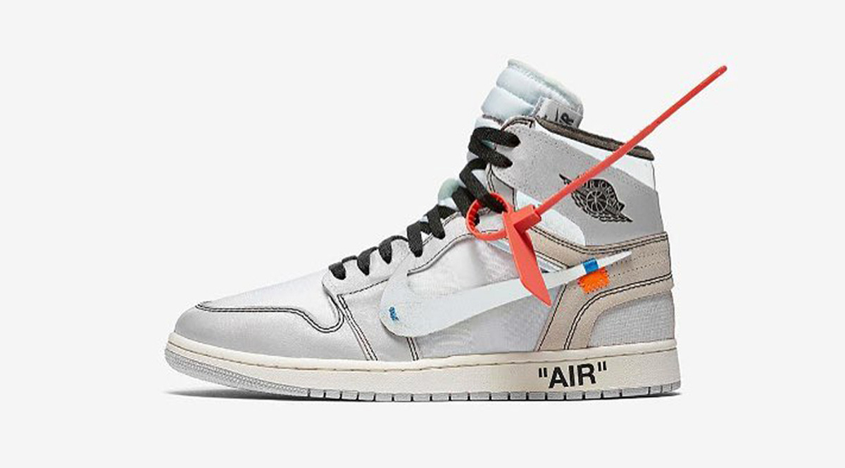 AJ1,Air Jordan 1,OFF-WHITE,AQ0  传闻明年市售!纯白配色 OFF-WHITE x Air Jordan 1 你给打几分?