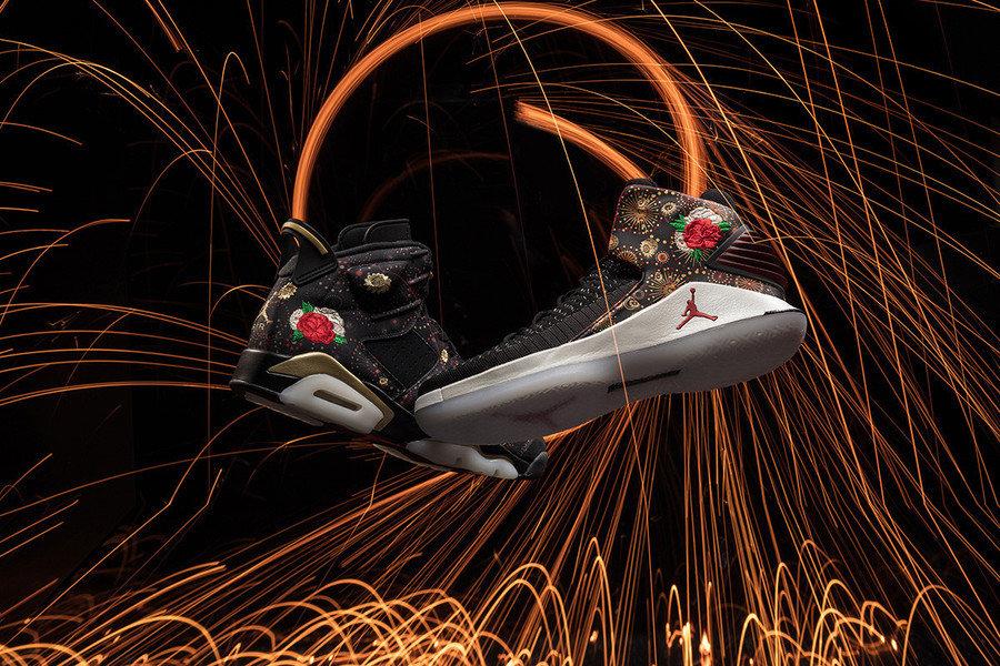 AJ6,Air Jordan 6  AJ 中国年配色!两款带刺绣的 Air Jordan 将于下周发售!