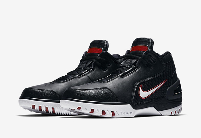 Nike,Air Zoom Generation,King'  官网链接已出!黑白红 Air Zoom Generation 明早正式上架