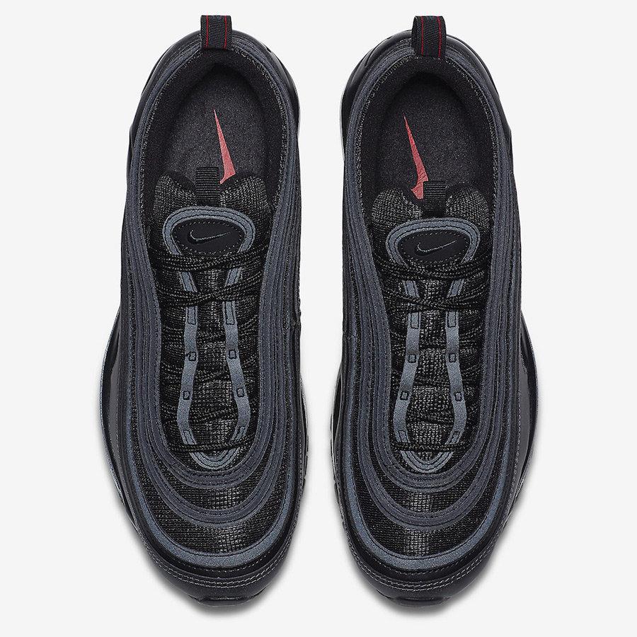 Nike,Air Max 97,921826-005  黑色金属光泽!全新 Air Max 97 下月初发售