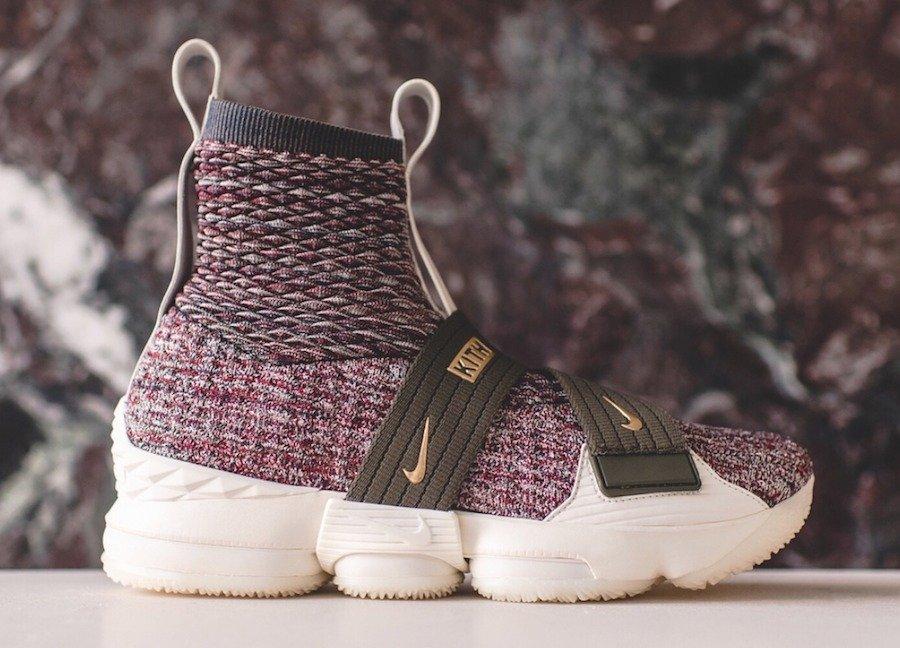 KITH,Nike,LeBron 15  一双鞋三种穿法!绑带版 KITH x Nike LeBron 15 美图欣赏