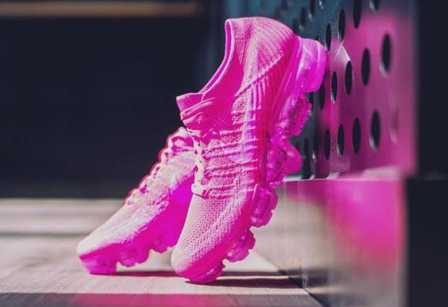 Nike,Air VaporMax,849557-604  粉色诱惑!新配色 VaporMax 中国区发售日期确定!