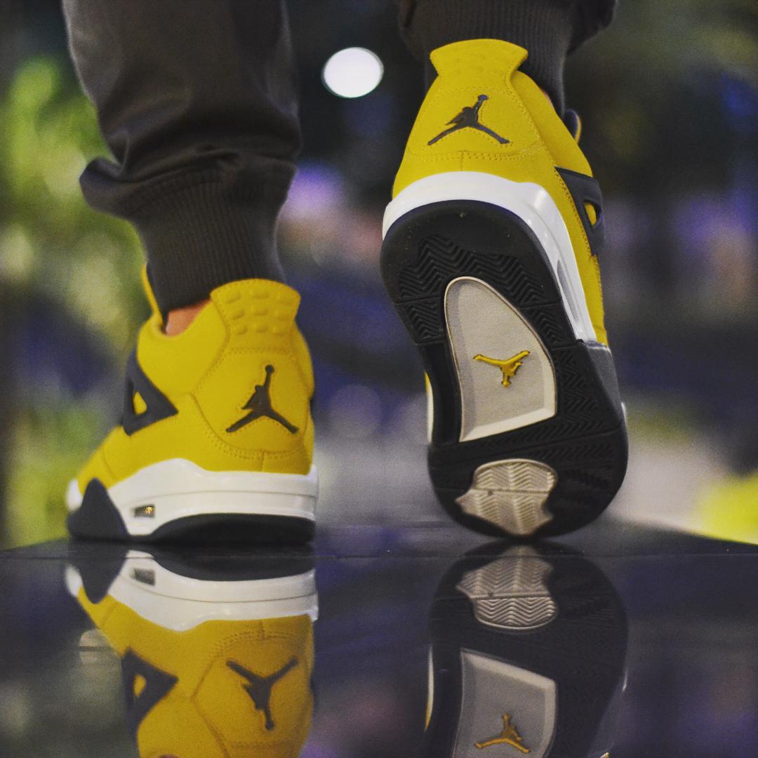 """Air Jordan 4,AJ4,Lightning  超人气复刻!电母 Air Jordan 4 """"Lightning"""" 2018 年底回归!"""