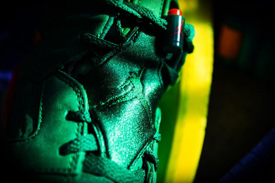 AJ6,Air Jordan 6,AJ5986-335  国内买比国外便宜!提前上脚展示 AJ6 绿色佳得乐版本!