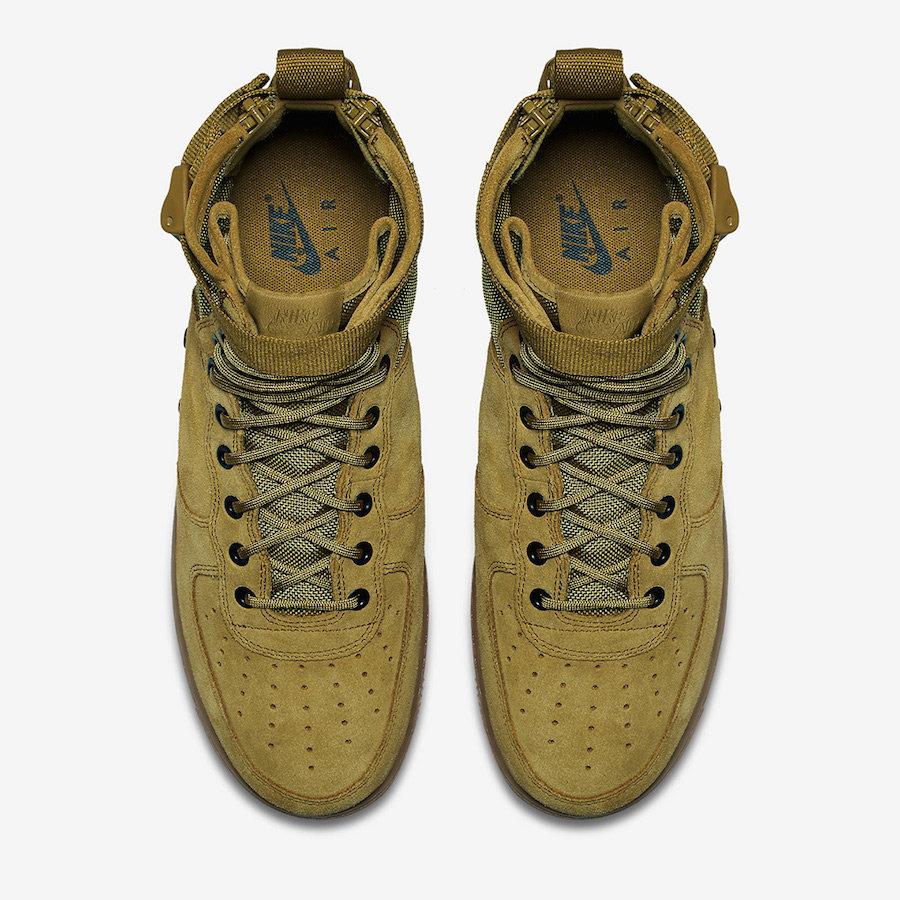 Nike,SF-AF1 Mid,Military Green  军事气息浓郁!全新橄榄绿色 SF-AF1 Mid 即将登场
