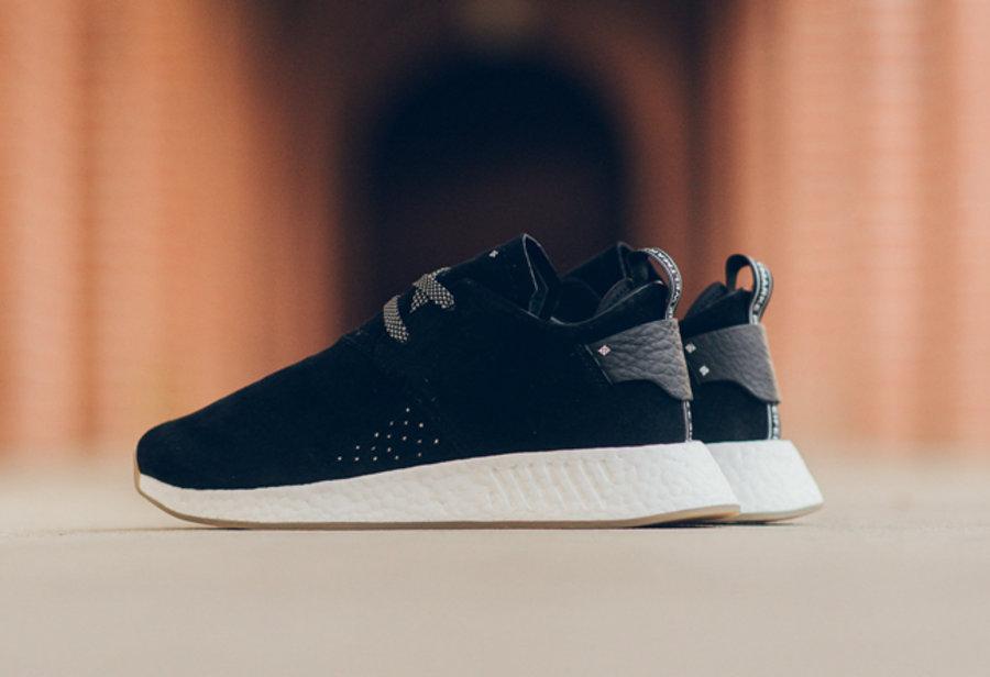 adidas,NMD CS2,Black Suede,BY3  质感表现不俗!麂皮鞋面 NMD CS2 海外现已上架