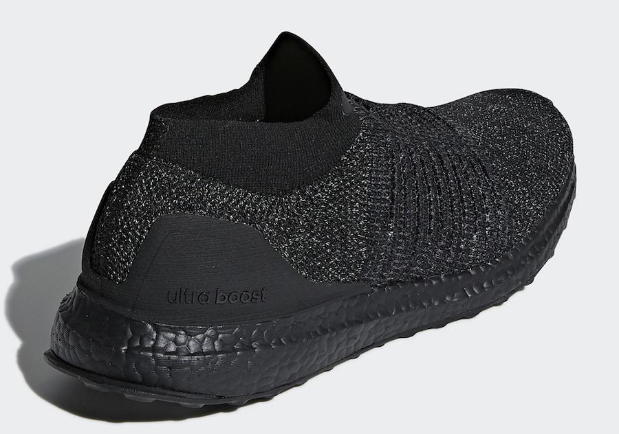 adidas,Ultra Boost Laceless,Tr  无系带袜套设计!黑魂 Ultra Boost Laceless 即将发售!