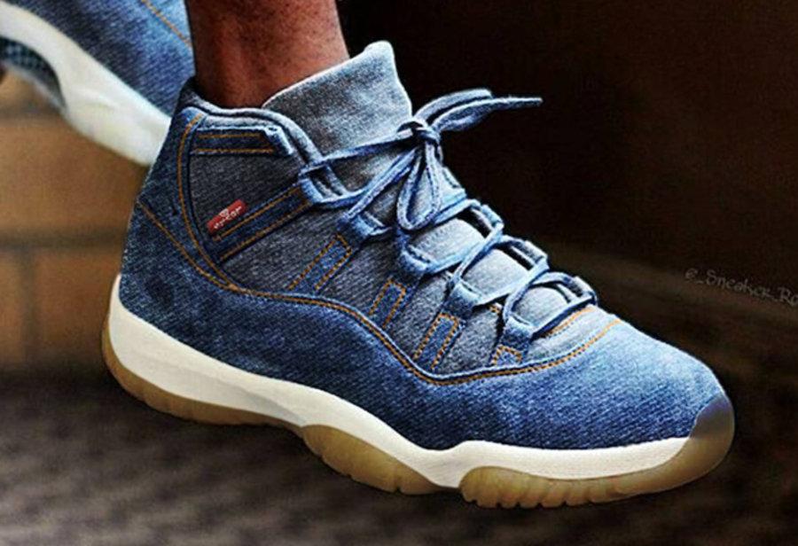 Levi's,Air Jordan 6,Air Jordan  毫无违和感!这几款 Levi's x Air Jordan 6、11 你觉得如何?