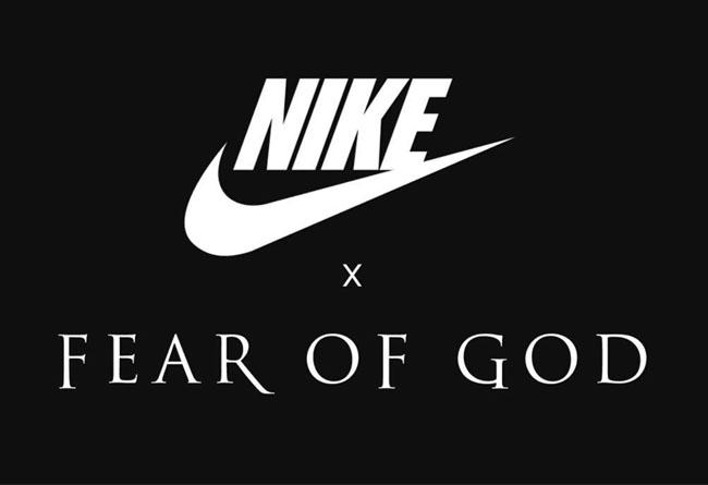 FEAR OF GOD,Nike  主理人亲自确认!FEAR OF GOD x Nike 超人气联名 2018 登场!