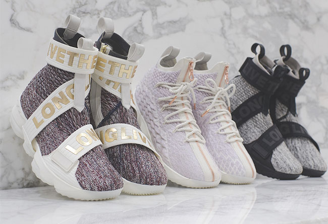 KITH,LeBron 15,Nike  高清细节近览!KITH x LeBron 15 终于公布了发售详情!