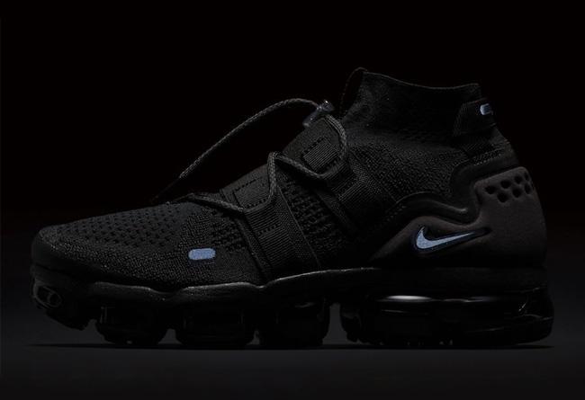 Nike,Air VaporMax Flyknit Util  机能造型!鞋面升级 Air VaporMax 下周发售!