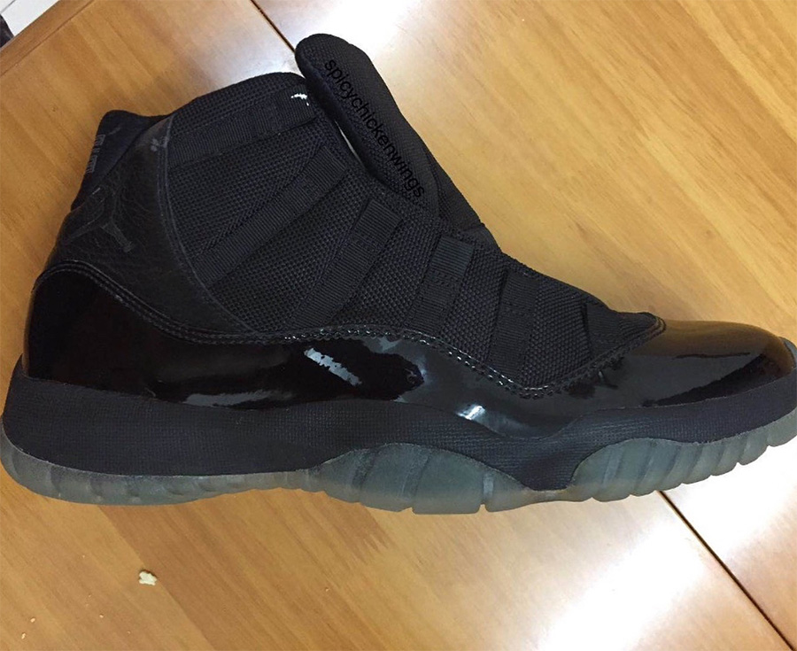 378037-005,AJ11,Air Jordan 11 378037-005 AJ11 全黑配色首次降临 Air Jordan 11!发售时间却有些一反常态