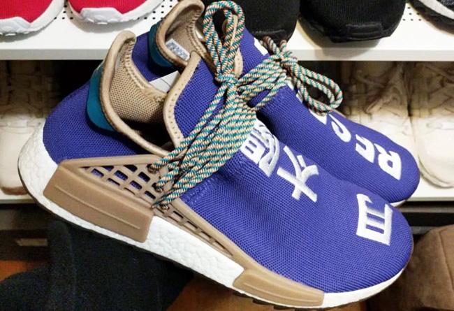 "Hu NMD,菲董,adidas  Pharrell x adidas Hu NMD ""Respira"" 更多实物图片亮相"
