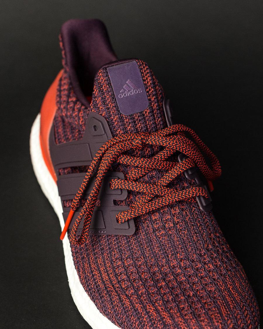 "adidas,Ultra Boost,Deep Burgun  酒红配色!adidas Ultra Boost 4.0 ""Deep Burgundy"" 二月发售"