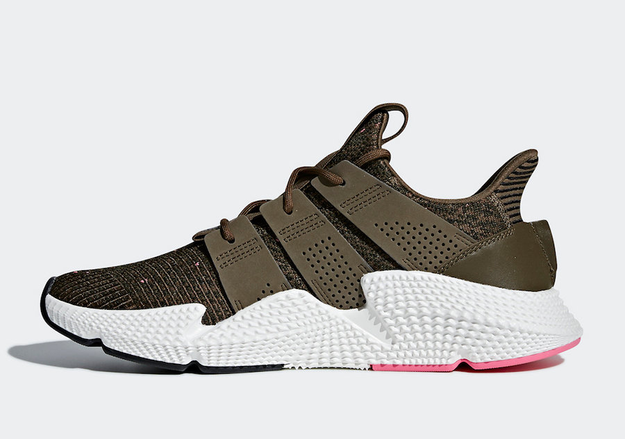 adidas,Prophere,AQ0818-100  充满活力动感!绿粉色 adidas Prophere 下周正式发售