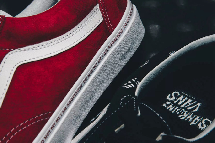 Vans,Era,Slip-On,Style 36,SANK  即将发售!Vans 携手上官喆打造狗年别注系列鞋款