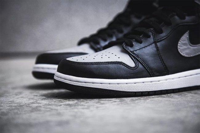 "AJ1,Air Jordan 1, 555088-013  经典又百搭!黑灰 Air Jordan 1 OG ""Shadow"" 四月发售!"