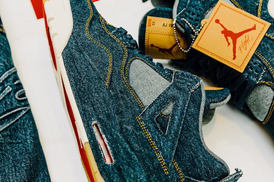 Jordan Brand,Levi's,Air Jordan  新年首个重磅联名!Levi's x Jordan Brand 系列发售店铺公布