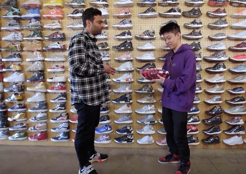 Complex,制作,的,球鞋,节目,《,Sneaker S  Rich Chigga 做客《明星逛鞋店》,1600 美元都买了哪些球鞋?