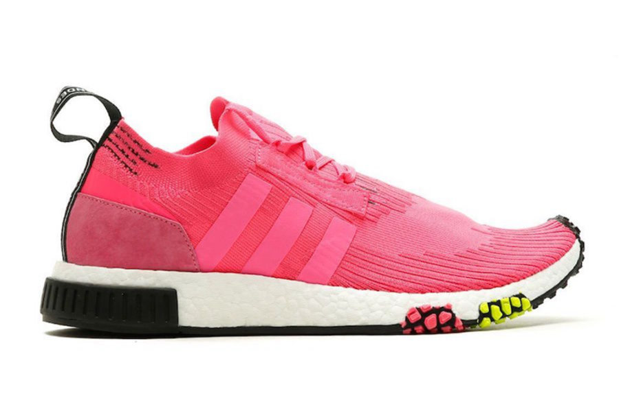 "NMD Racer,Solar Pink,adidas,CQ  清新桃粉装扮!新鞋型 NMD Racer ""Solar Pink"" 下月初登场"