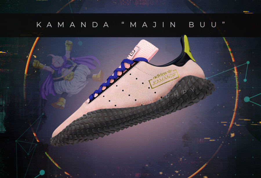 adidas,Dragon Ball Z,The Kaman  魔人布欧降临!龙珠 Z x adidas The Kamanda 首次曝光