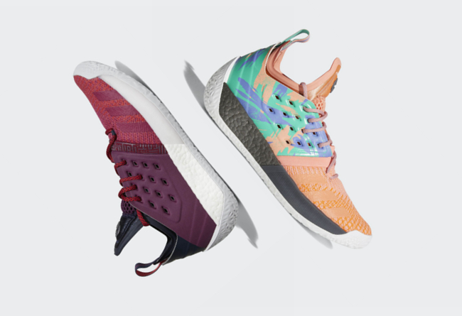 Harden Vol. 2,adidas  官方定妆照释出!哈登新战靴 Harden Vol. 2 细节表现不俗