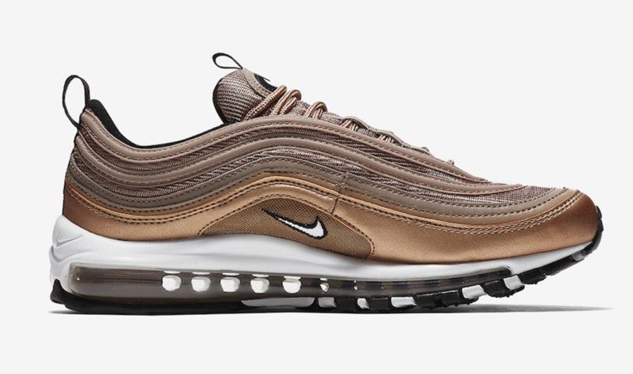 Air Max 97,Nike,Metallic Red B  复古铜色装扮!全新配色 Air Max 97 明日上架发售