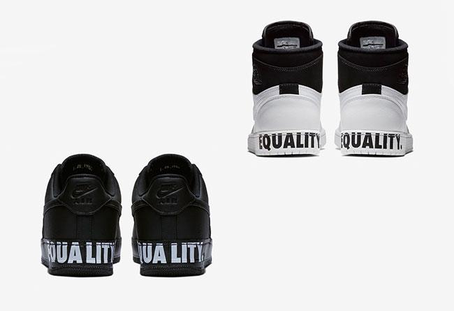 """AJ1,AF1,Air Jordan 1,Air Force 酷似熊貓配色!Air Jordan 1 & AF1 """"Equality"""" 即將發售!"""