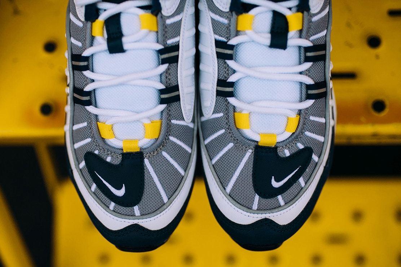Nike,Air Max 98  复古气质浓郁!全新配色 Air Max 98 本月发售