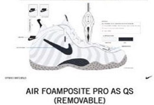 Nike,Air Foamposite Pro,Remove  换勾大法好!这双喷泡新品首次在鞋身上动手脚!