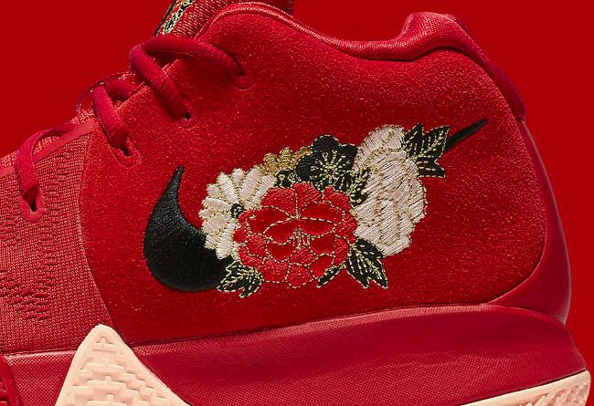943807-600,Kyrie 4,Nike 943807-600 中国区下周发售!新年配色 Kyrie 4 CNY 要来了!