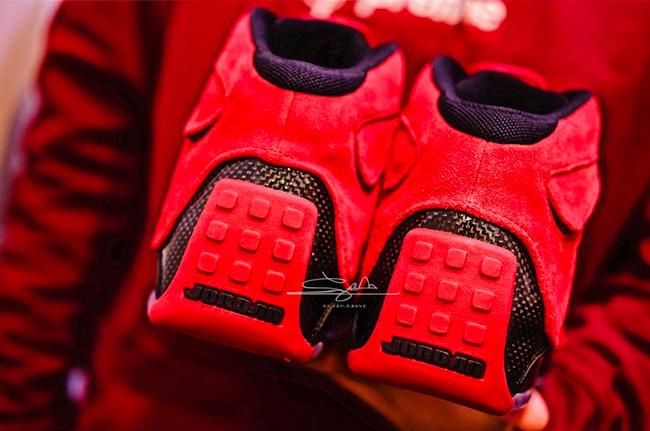 """AA2494-601,AJ18,Air Jordan 18 AA2494-601 惊艳的性能怪兽!Air Jordan 18 """"Toro"""" 清晰实物图赏"""