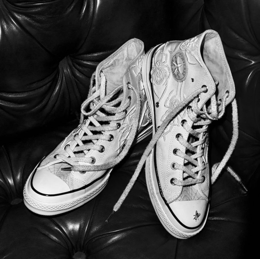 "Chuck Taylor All Star 1970s,Co  ""蜘蛛与苍蝇"" 主题!Dr. Woo x Converse 联名鞋款本周登场"