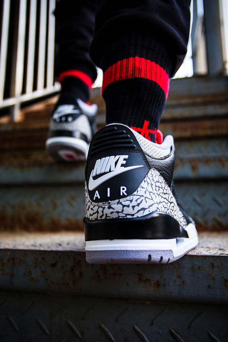 AJ3,Air Jordan 3,854262-001  新年穿新鞋的最佳之选,除了这双我想不出第二个!