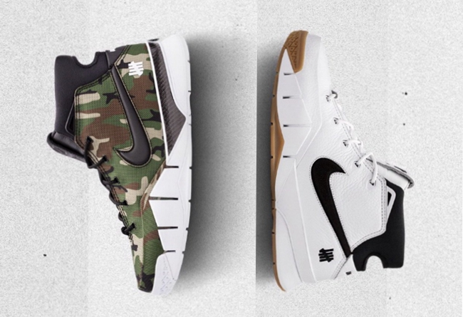 Undefeated,Zoom Kobe 1 Protro,  猝不及防!两款 Undefeated x Zoom Kobe 1 Protro 首次曝光