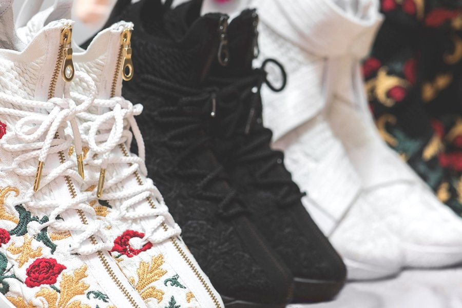 Nike,KITH,Nike LeBron 15  华丽与霸气尽显!KITH x Nike LeBron 15 发售信息公布