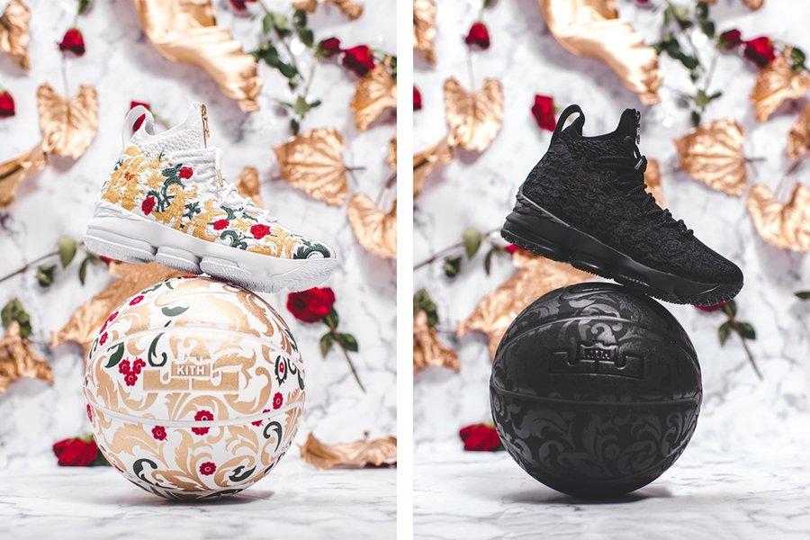 Nike,KITH,Nike LeBron 15 華麗與霸氣盡顯!KITH x Nike LeBron 15 發售信息公佈