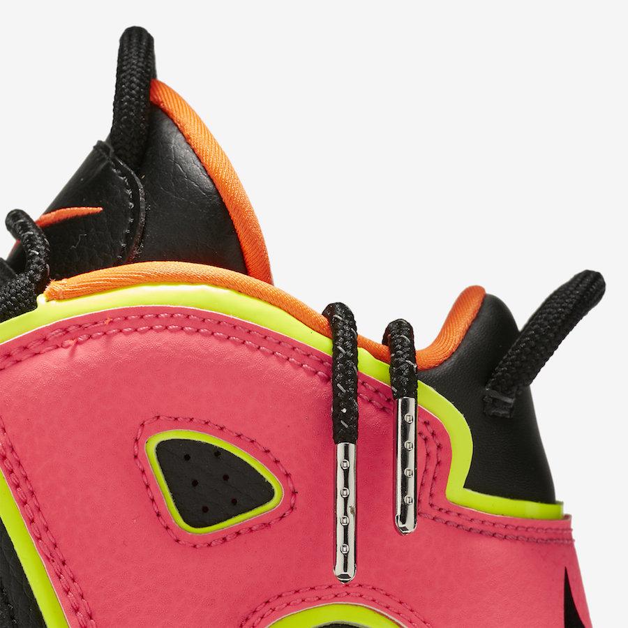 "Nike,Air More Uptempo,917593-0  醒目配色+精致细节!女生专属大 ""AIR"" 四月正式发售"
