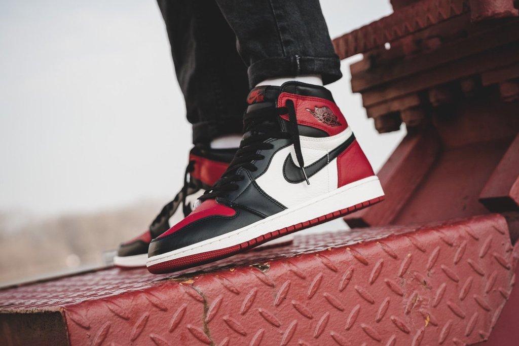 """明早官网上架!黑红脚趾 Air Jordan 1 """"Bred Toe"""" 官网链接已出! 球鞋资讯"""