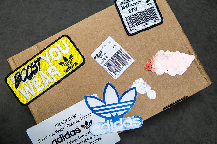 AQ0277,BYW,adidas AQ0277 限量 250 双的特别版 adidas Originals BYW!小编实物开箱