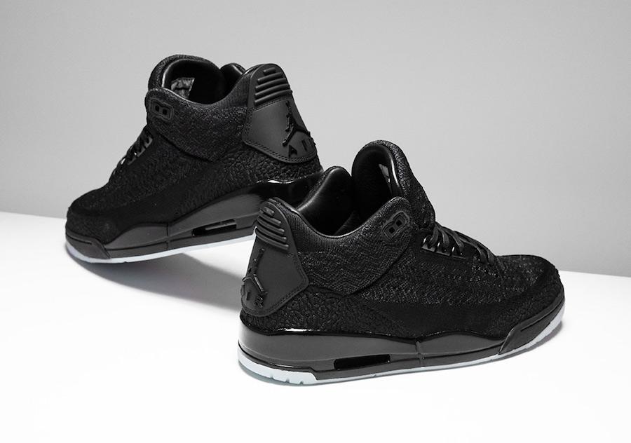 AJ3,Air Jordan 3  夜光鞋底加持!编织 Air Jordan 3Flyknit 本月发售!