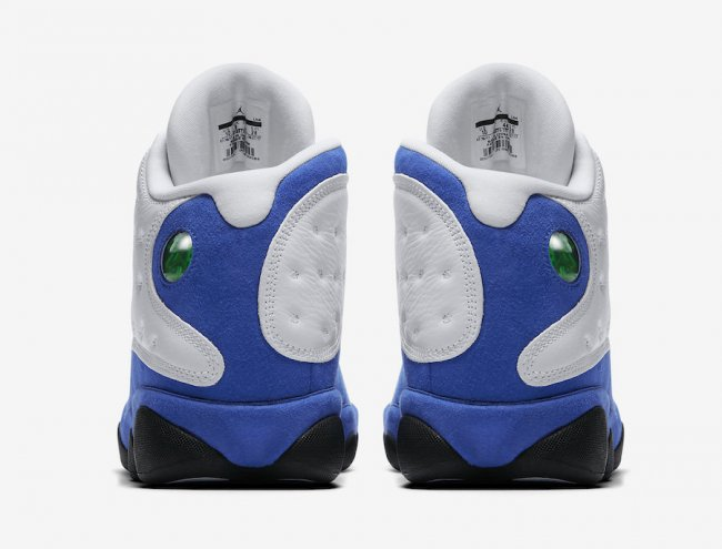 AJ13,Air Jordan 13,414571-117  诱人白蓝!全新配色 Air Jordan 13 将于明早发售!
