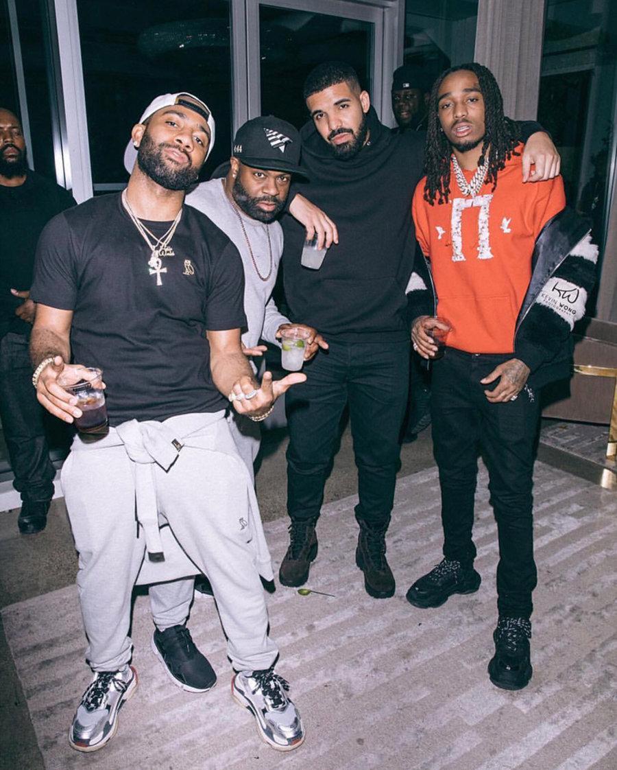 Drake,yeezy,adidas  已加盟 adidas 阵营?Drake 上脚 Yeezy 鞋款